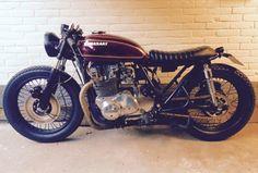Kawasaki KZ750 twin bratstyle