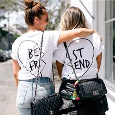 The Cool Wishlist: Best Friend T-shirt Set