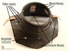 Armour Photo Essay - The articulation of a 16th century gorget - Age of Armour