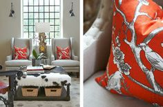 Isabella & Max Rooms  Love that ottoman/table!