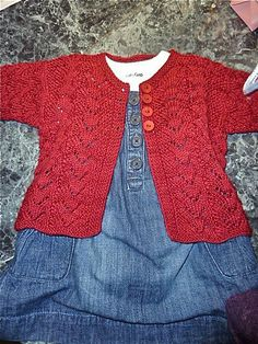 sweet sweater for a little girl.