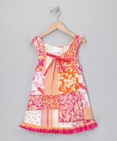 Take a look at this Pink Tropic Dress - Infant, Toddler & Girls by Carolina Kids on #zulily today!
