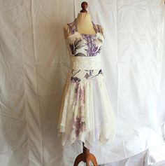 Mori Girl Dress Bridesmaid Dress in Shadows of Ivory and by cutrag, $177.77