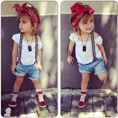 Stylish Baby Fashion 2014 for Girls #fashion #shorts