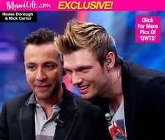 Nick Carter Getting Coached By Backstreet Boy Howie Dorough For 'DWTS'