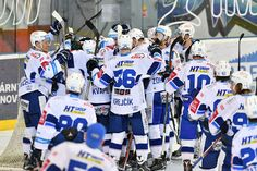 Kometa - Liberec  5:2  (19.4.2017) Ice Hockey, Hockey Puck, Hockey