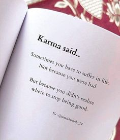 Good Thoughts Quotes, True Feelings Quotes, Good Life Quotes, Reality Quotes, Mood Quotes, True Quotes, Wisdom Quotes, Karma Quotes Truths, Poetry Feelings
