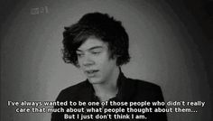 This interview with Harry broke my heart.