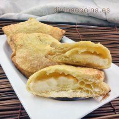 Empanadillas de hojaldre y crema