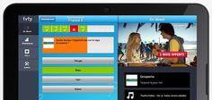 TyVy: Une application mobile transforme les pubs TV en quizz.  Pourquoi pas la radio aussi? Et les pubs cinémas? Est-ce que ca suffit comme contenu? Quel est l'incitatif pour télécharger l'app? On en fait la promo comment? Radios, Pub Tv, Application Mobile, Product Launch, Business, Quizes