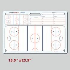 Ringette Board - Rink diagrams are to scale based on the official rules