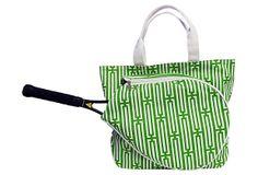 Tennis Bag, Green on OneKingsLane.com