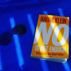 your typical vacation book Naomi Klein, Bookstagram, Enough Is Enough, Book Lovers, Politics, Vacation, Vacations, Holidays Music, Holidays