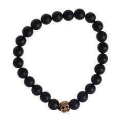 My design inspiration: Skull Stretch Bracelet on Fab.