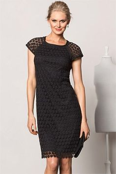 Dresses - Grace Hill Lace Shift - EziBuy Australia - this is a really good fit - lovely dress