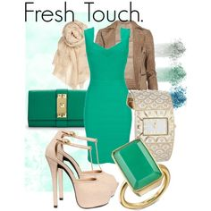 fresh touch., created by papadimitriou-alexandra on Polyvore