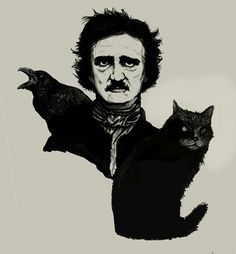 """''And now was I indeed wretched beyond the wretchedness of mere Humanity."""" - Edgar Allan Poe, """"The Black Cat"""""""