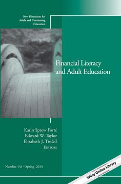 BORROW FROM DECODA: This collection of articles brings together the fields of adult education and financial literacy, showing how concepts and knowledge about adult education can be used in financial education, and how financial education shows adults learning and using new knowledge in a practical way.