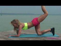 """Kőkemény popsi"" edzés - TORNAVIDEO.HU - YouTube Wellness Fitness, Health Fitness, Weight Gain, Weight Loss, Zumba, Fat Burning, Pilates, Health Tips, Diet"