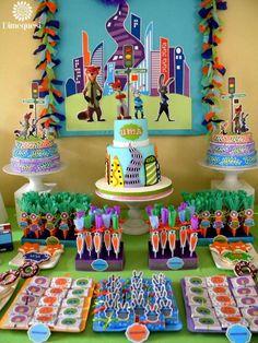 Awesome Zootopia birthday birthday party!