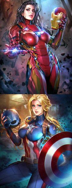 Escolha seu lado #Mulher de Ferro