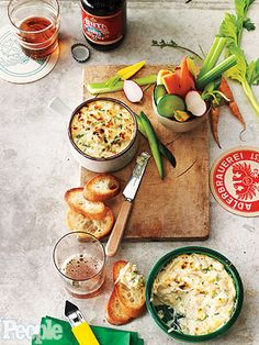 Definitely want to make this Creole crab dip from New Orleans restaurateur Ralph Brennan for Super Bowl Sunday!  http://www.people.com/people/article/0,,20665525,00.html