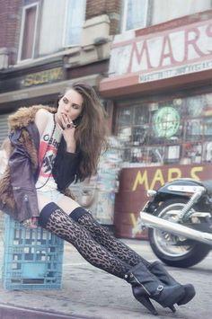 rock n roll rock chick style