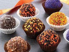 Receta de Trufas de Chocolate para Halloween
