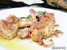 Blog de cuina de la dolorss: Conejo con picada de ajos