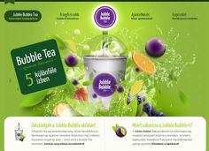 Green in Web Design! 45 Beautiful and Inspiring Examples - Jubble Bubble Tea