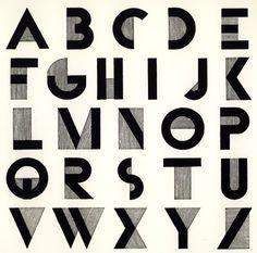 Bifur Font - AJM Cassandre - 1929