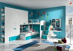 small bedroom, a whole worlds to live www.giessegi.it/it/camerette-ragazzi-bambini?utm_source=pinterest.com&utm_medium=post&utm_content=&utm_campaign=post-camerette