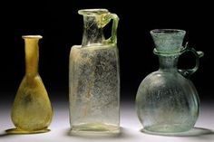 three_roman_glass_vessels_circa_1st-4th_century_ad_d5358320h.jpg (340×227)