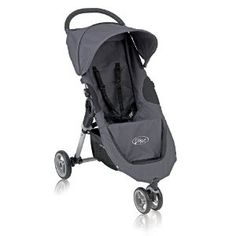 Baby Jogger City Micro Single Stroller - Slate (Discontinued by Manufacturer) City Select Double Stroller, Double Baby Strollers, Baby Jogger City Select, Best Double Stroller, Single Stroller, Jogging Stroller, Travel Stroller, Umbrella Stroller, Little Boy Blue
