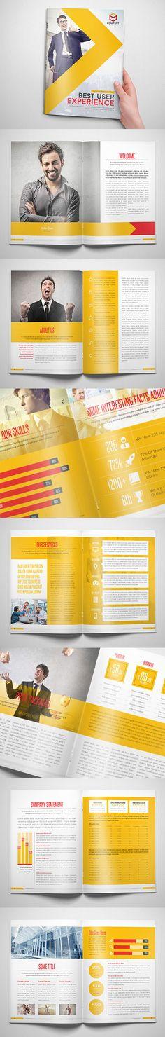 Modern Corporate Brochure Design #brochuredesign #brochuretemplates #printedbrochures #trifoldbrochures #bifoldbrochures