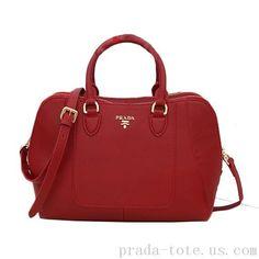 Luxury #Prada Calfskin Leather Tote Bag onnline sale