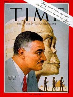 TIME Magazine Cover: Gamal Abdel Nasser - Mar. 29, 1963