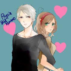 Prussia x Fem! romano