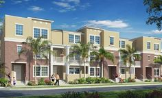 Our new West End townhomes located near downtown Tampa!