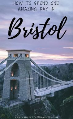 If you're looking for an epic one day in Bristol itinerary, then here are my suggestions. I've even included hidden gems that hardly anyone else mentions! Visit Bristol, Bristol Uk, Bristol England, Travel Couple, Romantic Travel, Places Around The World, Traveling By Yourself, Travel Inspiration, Places To Visit