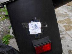 anti-theft sigil for my bike