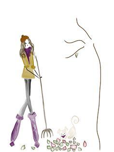 It's Fall #fall #fashion #fashionillustration #bybc