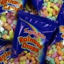 Rainbow Drops Party Bags Candy Retro Sweets- ebay