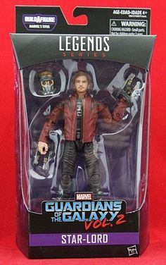 Marvel Legends Star-Lord Guardians of the Galaxy Vol. 2 6\