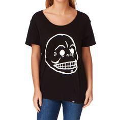 Cheap Monday T-shirts - Cheap Monday Easy T-shirt - Black