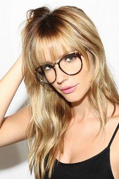 'Sawyer' Thin Round Clear Glasses - Matte Black - 5603-2