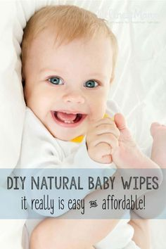 These homemade baby wipes are better for baby and save you money. Homemade wipes work really well on sensitive skin and they smell great! How to Make Homemade Baby Wipes Homemade Wipes, Homemade Baby, Mama Baby, Lil Baby, Baby Soap, Baby Lotion, Baby Skin Care, Baby Care, Natural Baby Wipes