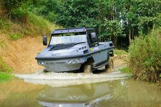 Amphibious Vehicle, Diesel Engine, Offroad, Electric, Garage, Military, Trucks, Cars, Vehicles