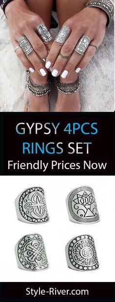 More boho rings --- Stye-river.com