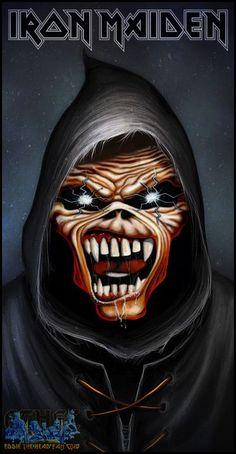 Biểu tượng đánh dấu #IronMaiden trên Twitter Black Metal, Heavy Metal Rock, Heavy Metal Music, Heavy Metal Bands, Iron Maiden Album Covers, Iron Maiden Albums, Metallica, Iron Maiden Mascot, Hard Rock